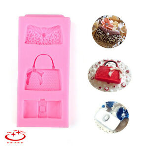 Sugarcraft Cake Decorating And Baking Show : Bag Style Fondant Mold Silicone Candy Cake Decorating ...