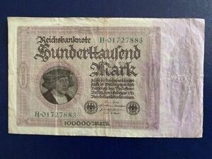 MUNICH-VERY FINE GERMANY 1 000 MARK  BANKNOTE 1923 BAYERISH
