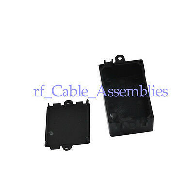 10pc Plastic Electronic Project Box Enclosure Instrument case DIY 65x38x22mm New