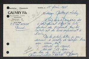 PLAINTEL-22-CHAUSSURES-amp-ALIMENTATION-034-GAUVRY-Fils-034-en-1951