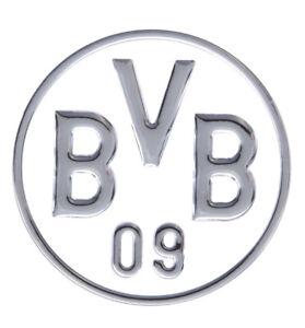 AUTO-AUFKLEBER-STICKER-BORUSSIA-DORTMUND-BVB-silber-NEU