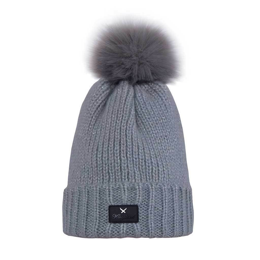 Kingsland Laboulaye Knitted Hat Ladies l.grigio AW 1819