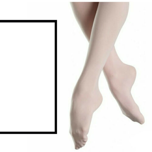 BALLET DANCE FULL FOOT FOOTED TIGHTS CHILDREN/'S LADIES ADULTS 40 60 70 80 DENIER