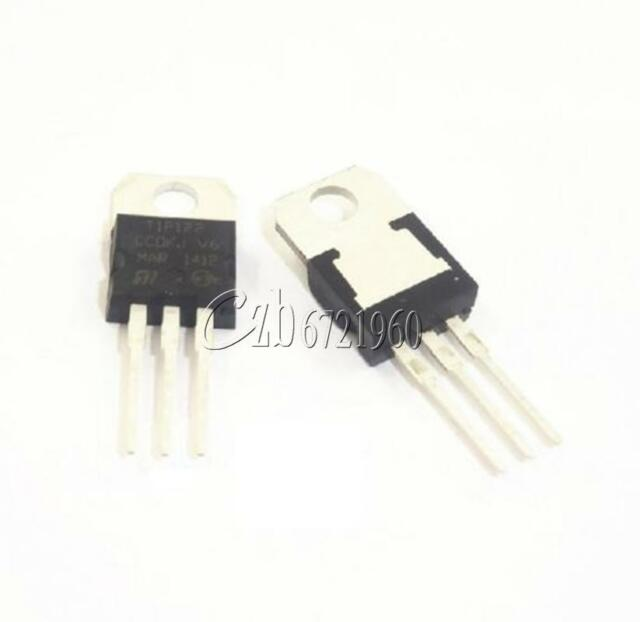 5PCS TIP122 TO-220 100V 5A Transistor Complementary NPN