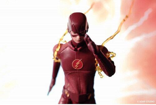 Web oficial Soap Studio FG001 DC DC DC Comics El Flash TV Series 1 12 Escala Figura De Acción  promociones emocionantes