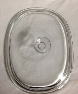 Pyrex-Replacement-Corning-Ware-Lid-8-1-2x-11-034-Clear-Glass-DC1-1-2C