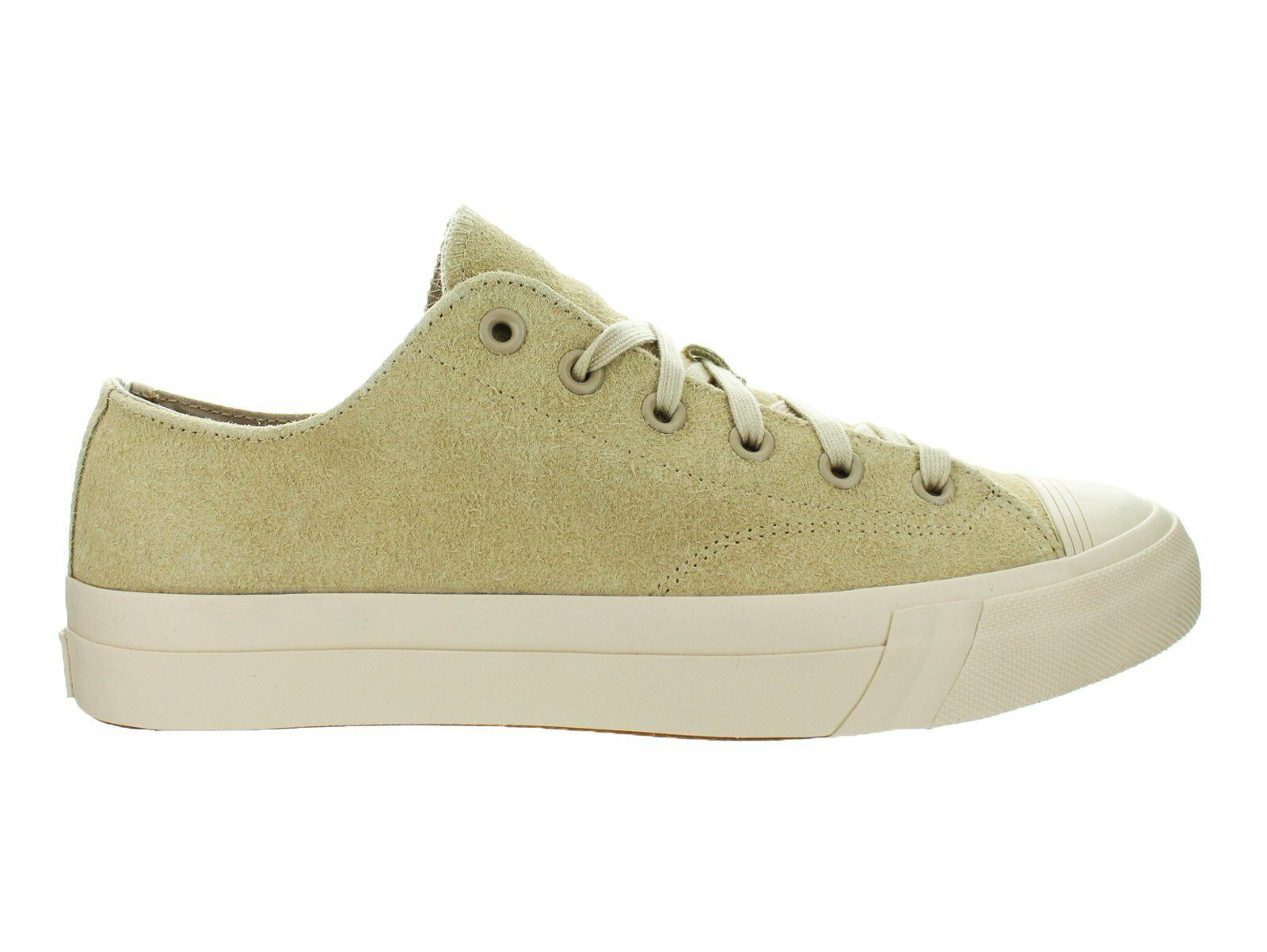 Mens Pro-Keds Royal Lo Hairy Suede Tan PH56819