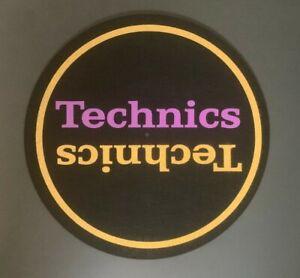 Technics-Violet-amp-Or-DJ-Slipmats-sl1200s-mk5-m3d-m5g-ou-toute-Platine-UNIQUE