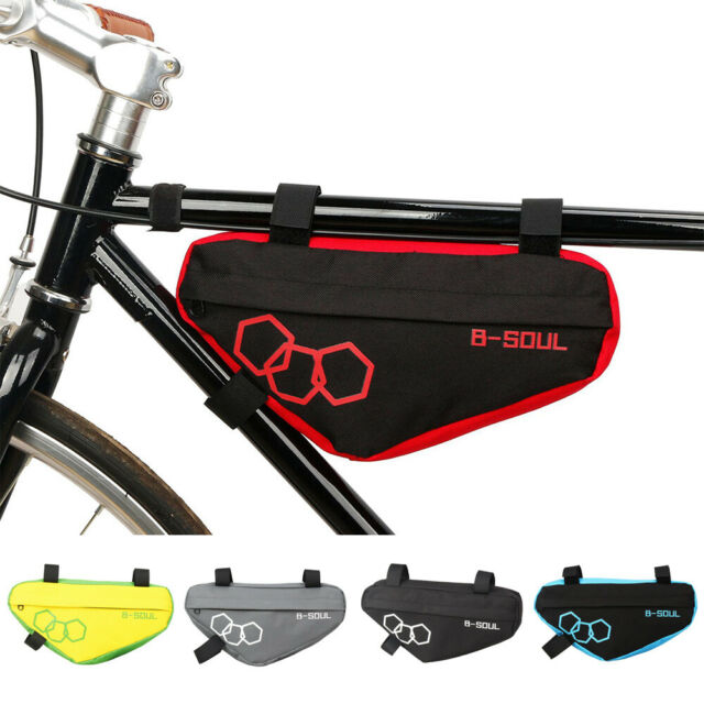Triangle Bicycle MTB Road Bike Bag Cycling Front Tube Frame Pouch Water-proof