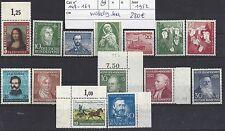duitsland mi 148-161 VOLLEDIGE JAARGANG KOMPLEET (1952) postfris xx