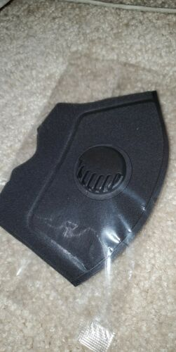 Washable Face Shield cover activated carbon filter with valve-ships from US