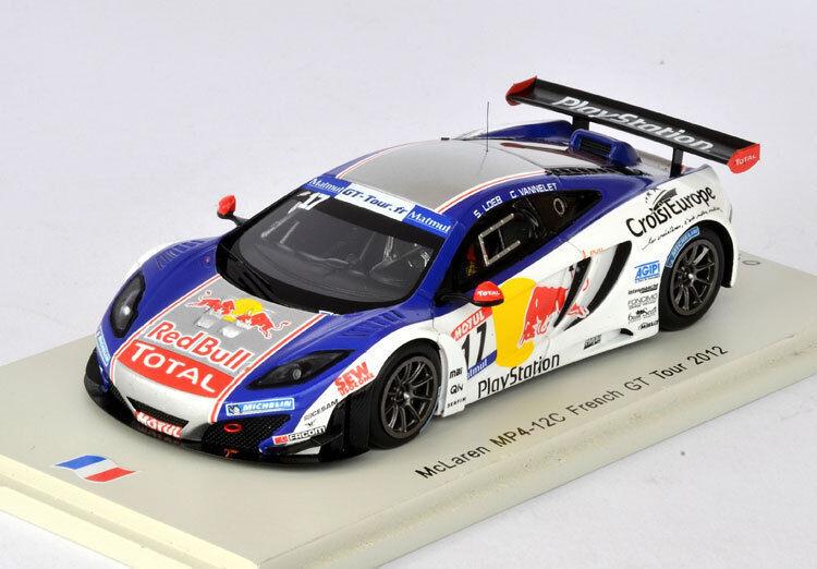 SPARK McLaren MP4-12C French GT Tour 2012 s. Loeb - g. Vannelet SF067 1 43