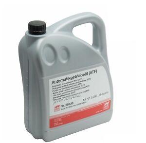 5-Liters-ATF1-Automatic-Transmission-Oil-Fluid-Febi-ATF-ESSO-LT-71141-For-BMW