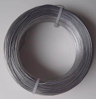 (0,13€/m) Aludraht 1mm rund 30m Biegedraht Basteldraht Schmuckdraht Draht 1,0 mm
