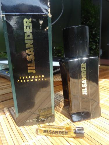 JIL SANDER III Perfumed cream bad ca. 150ml von 200ml   JIL SANDER III EDT 3,5ml  IDVMz Jdufs
