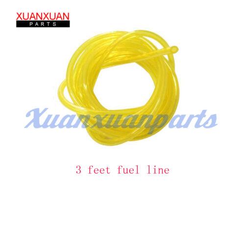 3X Primer Bulb /& Fuel Line Filter For Husqvarna 455 Rancher 460 445 450 435