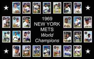 Image Is Loading 1969 NEW YORK METS World Series Poster Man