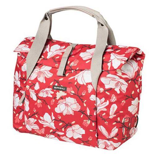 Basil bolso City Bag doble pack bolso bicicleta Shopper carry magnolia flores