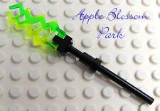 NEW Lego Troll Sorceress LIGHTNING STAFF WEAPON Yellow Green Sorcerer Bolt 7097