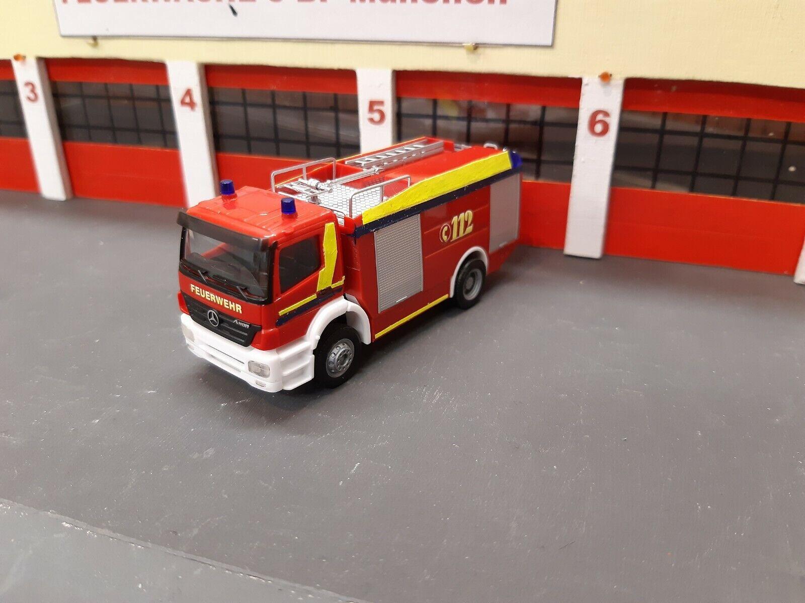 Feuerwehr 1 87 Mercedes Tlf 24 50 Fw Neu-ulm  Sehr schönes Sondermodell