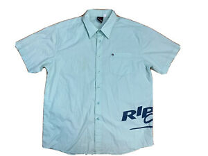 Rip Curl Mens Big And Tall Size XL Button Down Short Sleeves Shirt