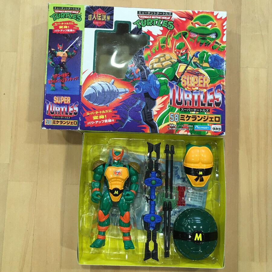 Takara Michelangelo Teenage Mutant Ninja Super Turtles FIGURE JAPAN LIMITED