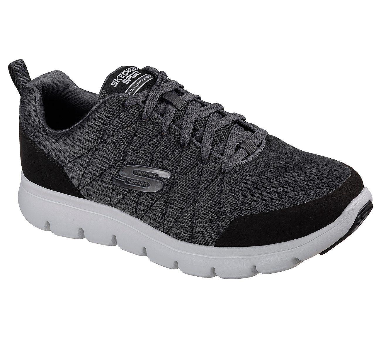 SKECHERS MARAUDER - MERSHION - 52836 CCBK - MENS TRAINERS Cheap women's shoes women's shoes