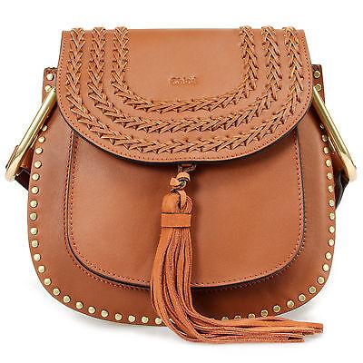 Chloé Hudson Calfskin Bag   Caramel with Gold Hardware