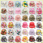 36 Designs Floral Print Bucket Sun hat Fishing Camping Beach Hat Boys Girls Kids