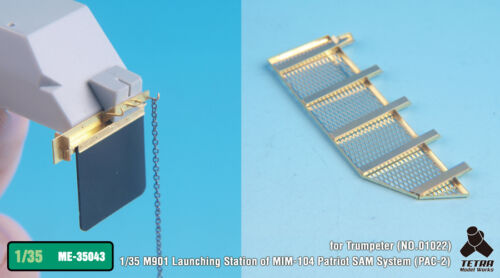 Tetra Model 1//35 M901 Launching Station PAC-2 Detail Set for Trumpeter #01022