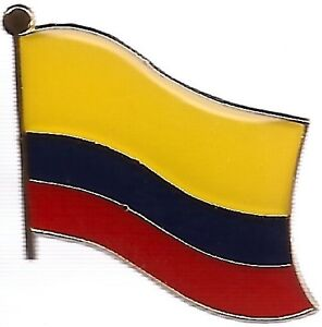 lot of 3 colombian flag lapel pins colombia flag pin ebay
