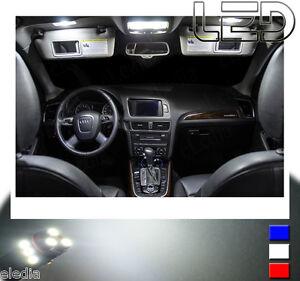 Audi Q5 Pack 10 Ampoules Led Blanc Plafonnier Lampe Lecture Miroir De Courtoisie