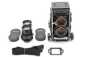 non-utilizzati-Mamiya-C330-PRO-S-Sekor-DS-105mm-135mm-Obiettivo-PUNTO-BLU-DAL-GIAPPONE-854