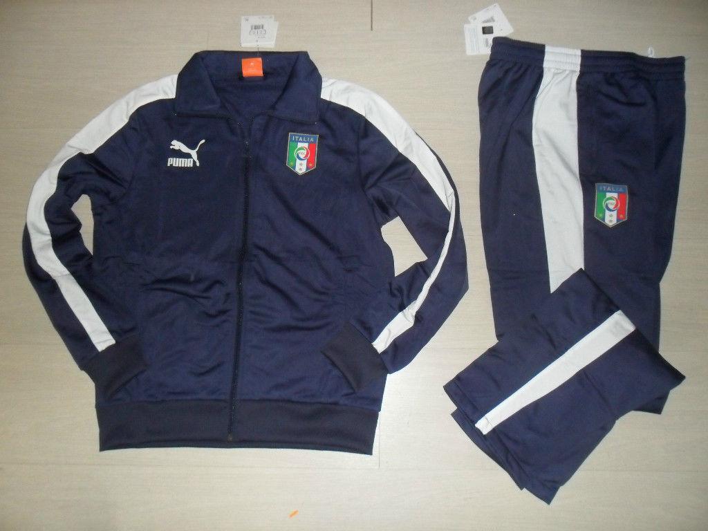 10187 EURO 2012 ITALIA TUTA BAMBINO POLICOTTON JR TRACKSUIT EUROPEI 740791 03