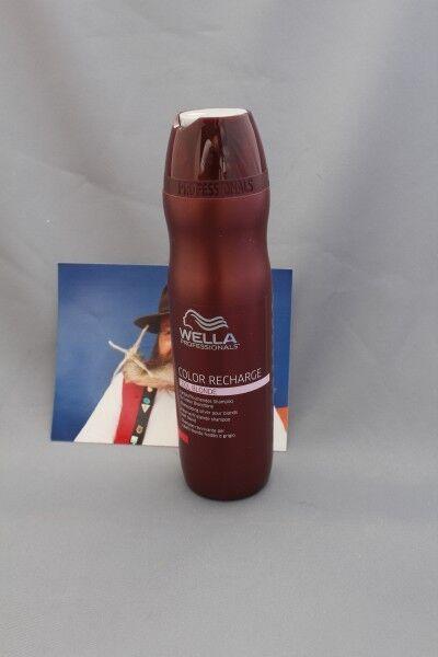 (4,12€/100ml) Color Recharge farbaufrischender shampoo cool blonde Wella 250 ml