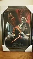 Disney Parks Exclusive Star Wars The Force Awakens Force Friday Metal Poster