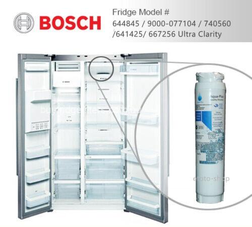 4 X Bosch 644845 Premium Compatible Fridge Filter Fits KFN91PJ10A-9000-077104