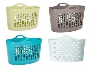 50-Litre-Plastic-Flexible-Storage-Flexi-Baskets-Clothing-Laundry-Bucket-Garden