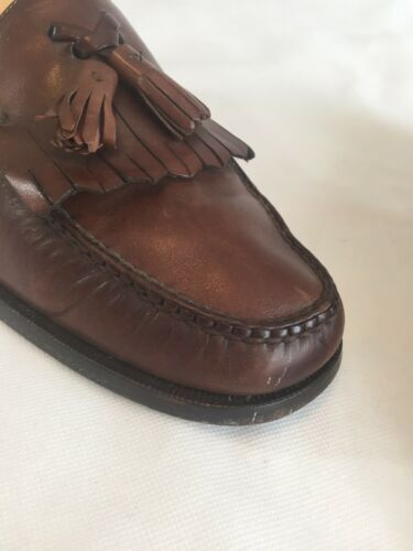 53eecf965e8d Men s Cole 12d Shoes Loafers Fringe Casual Tassel Brown Dress Leather Haan  5rwIrq4f