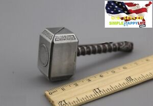 1-6-Scale-Thor-Metall-Hammer-Captain-American-fuer-Hot-Toys-Phicen-ganghood-USA