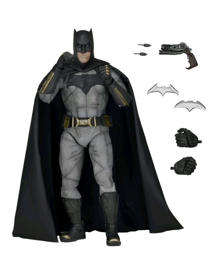NECA--Batman Vs Superman: Dawn of Justice - Batman 1:4 Scale Figure