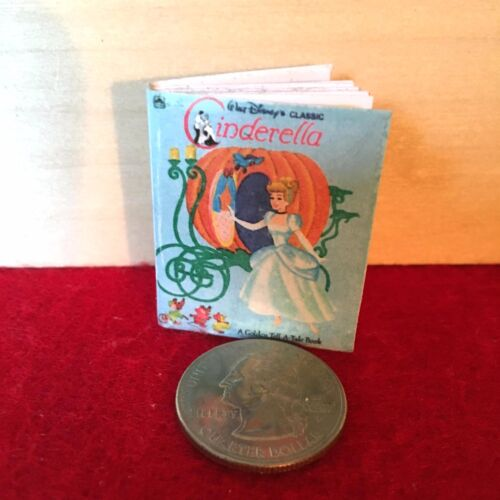 "Classic Cinderella book 1:6 Handmade miniature toy for 11/""-12/"" fashion dolls"