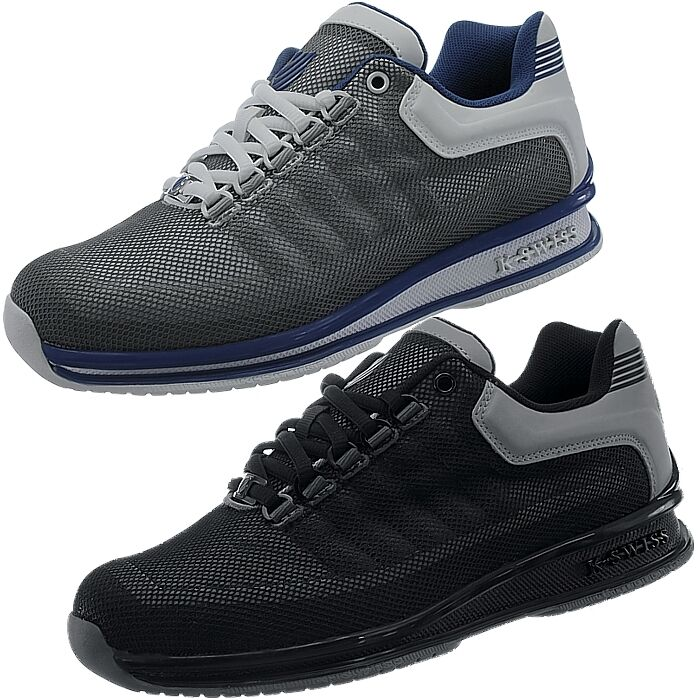 K-Swiss Rinzler Trainer Herren Sneakers grau/schwarz Freizeit Sportschuhe NEU