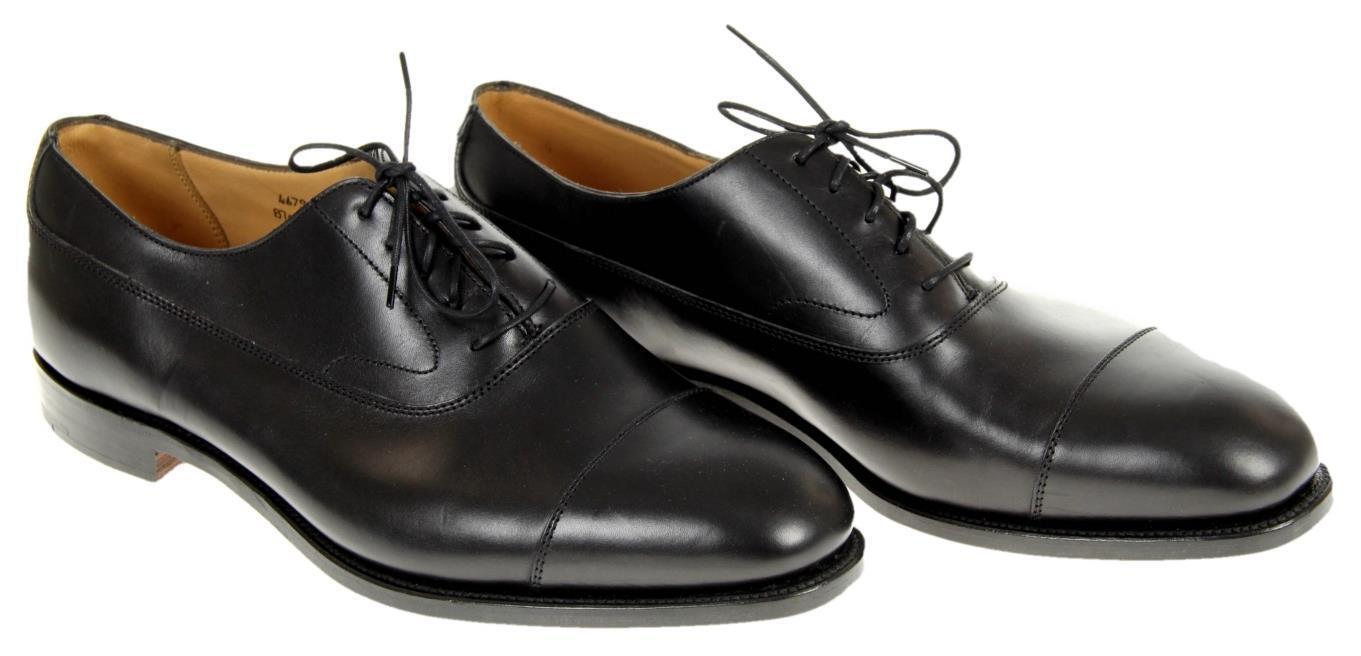 Alfrosso Sargento  for J.Crew Balmoral Men's Cap -Toe Oxfords nero 7.5 467994 scarpe  scegli il tuo preferito