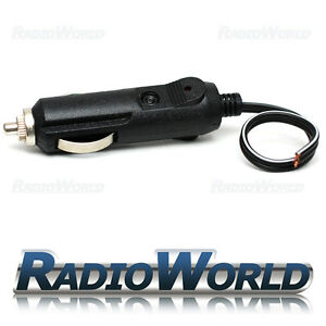 12v universal male car cigarette lighter socket plug connector adaptor 11
