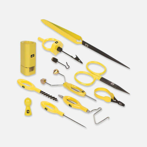 Core and Accessory Tool Kits Combined Loon Complete Fly Tying Tool Kit