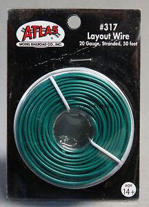 atlas ho o gauge track layout wire 20 gauge stranded 50. Black Bedroom Furniture Sets. Home Design Ideas