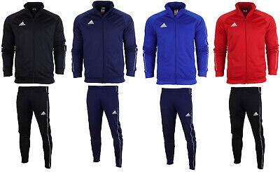 adidas core 18 herren trainingsanzug fußball sportanzug jogginganzug