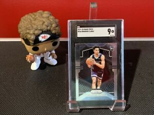 2019-20 Panini Prizm Brandon Clarke Rookie #266 SGC 9 Mint Memphis Grizzlies!