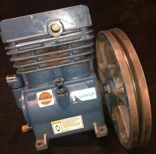 Quincy Air Compressor Pump With 12 Diameter Flywheel